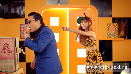 HyunA (4MINUTE) with Park Jae Sang (PSY) - ICE CREAM (Bugs) (HD 1080p)